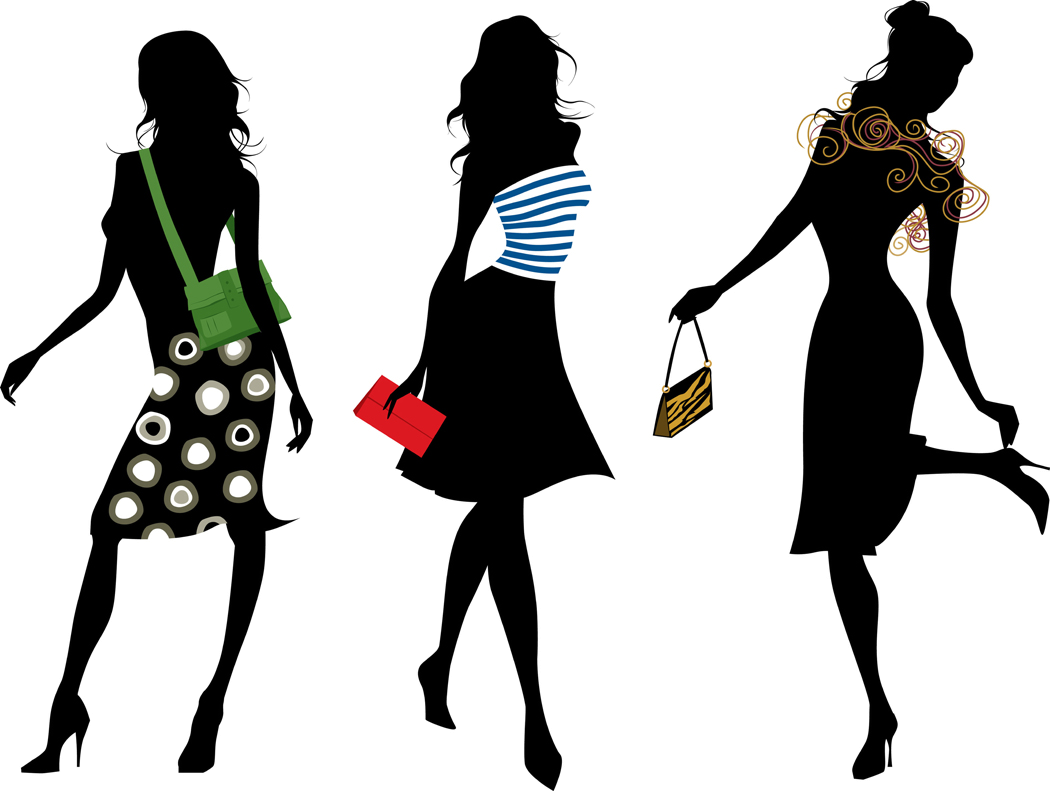 Words clipart fashion. Silhouette png at getdrawings