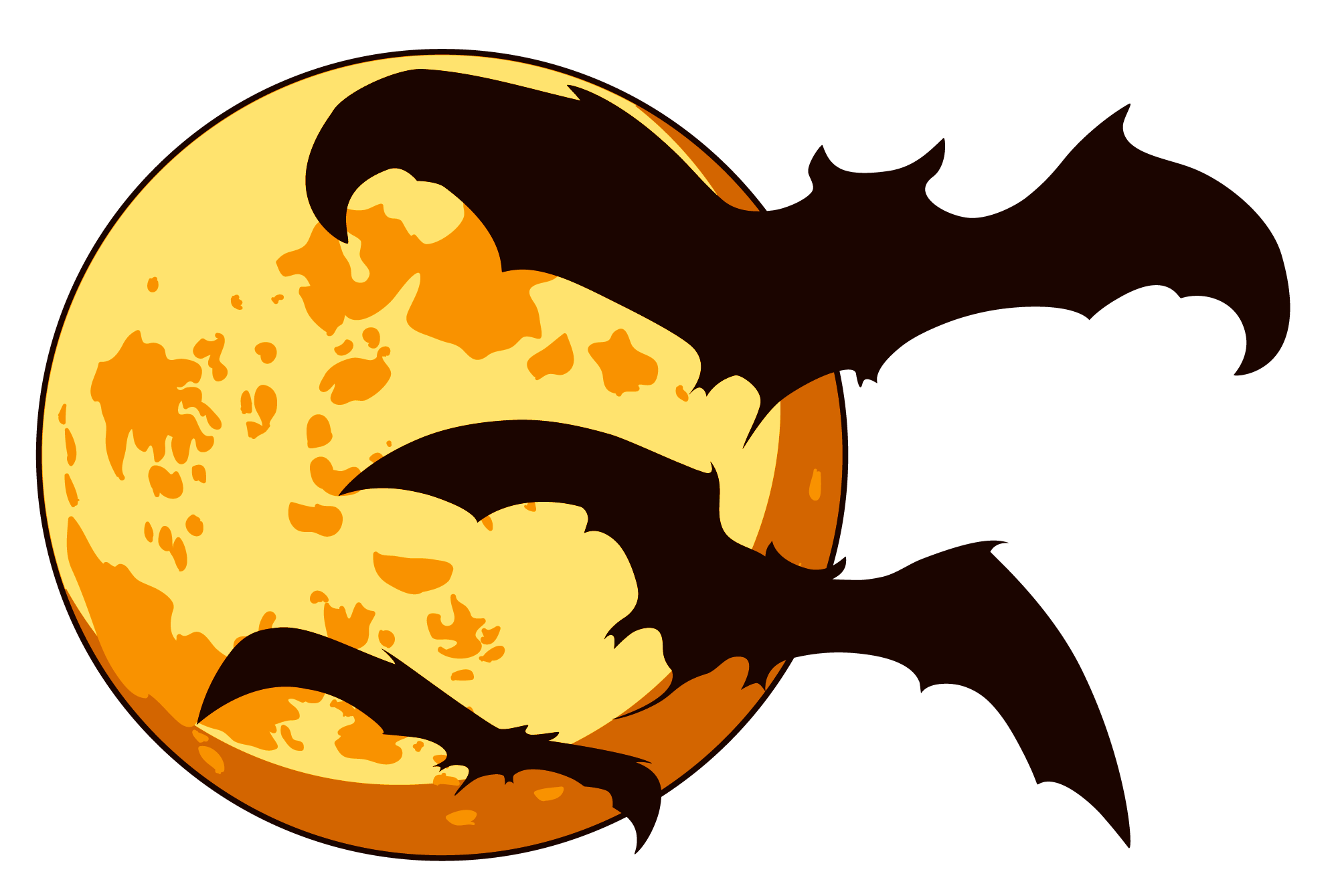 Festival clipart halloween. Moon at getdrawings com