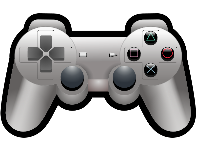 Game controller free . Gaming clipart transparent