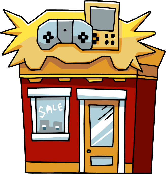 Game clipart video. Store scribblenauts wiki fandom