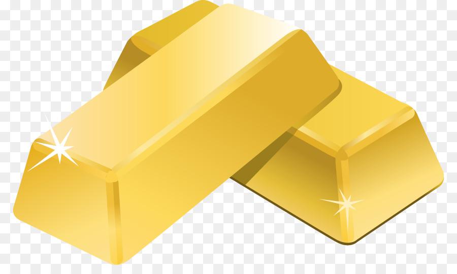 Gold clipart gold ingot. Bar illustration yellow transparent