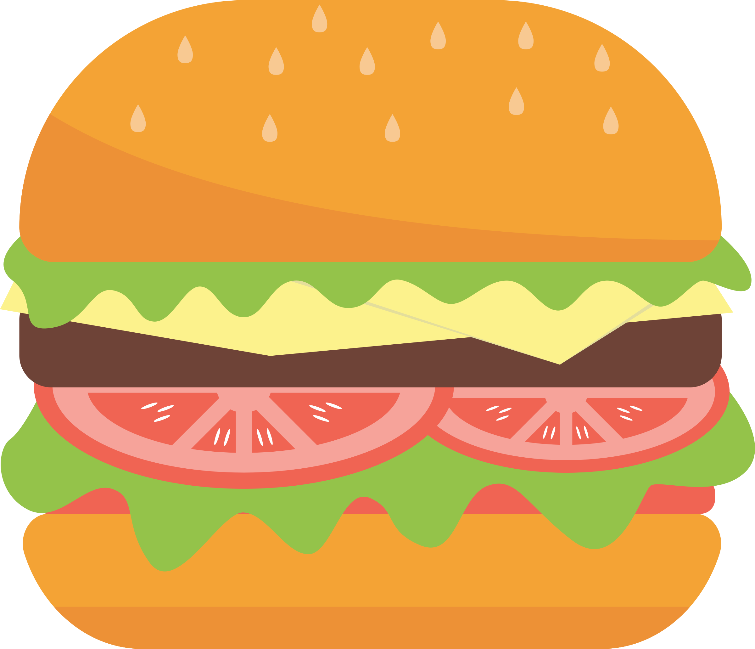 Food clipart hamburger. Big image png
