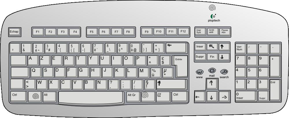 computer clipart keyboard