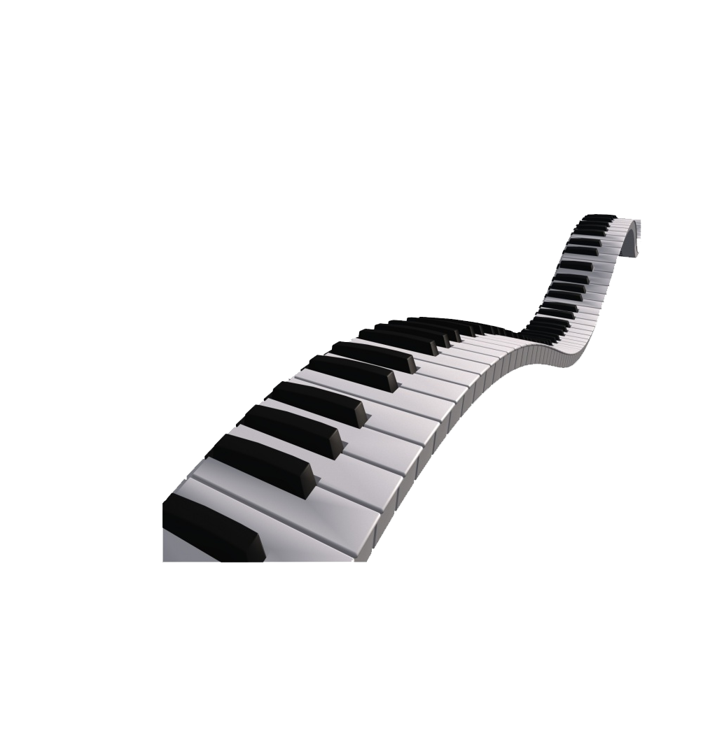 Musical clip art black. Piano clipart full keyboard