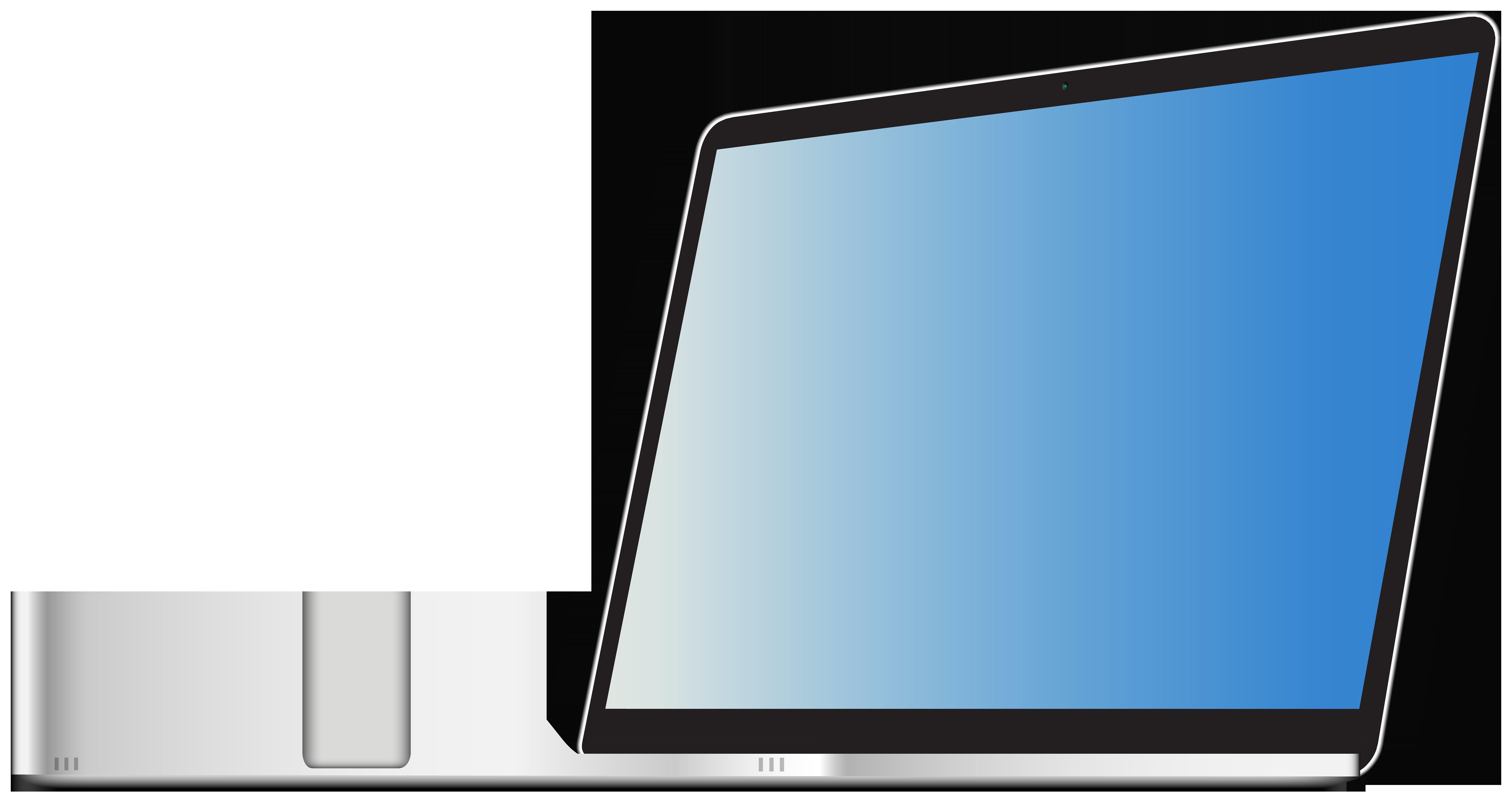 Laptop transparent png image. Notebook clipart clip art