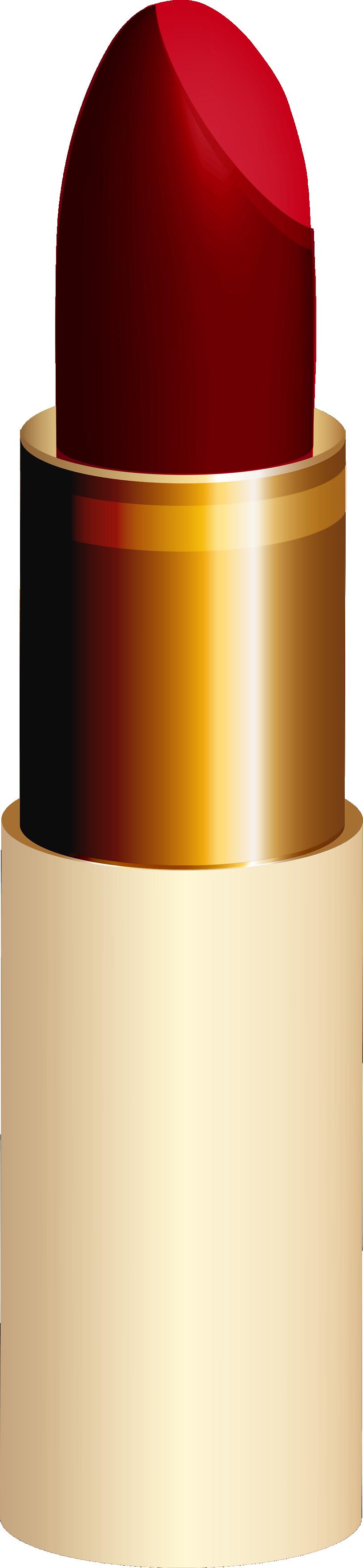 lipstick clipart gold lipstick