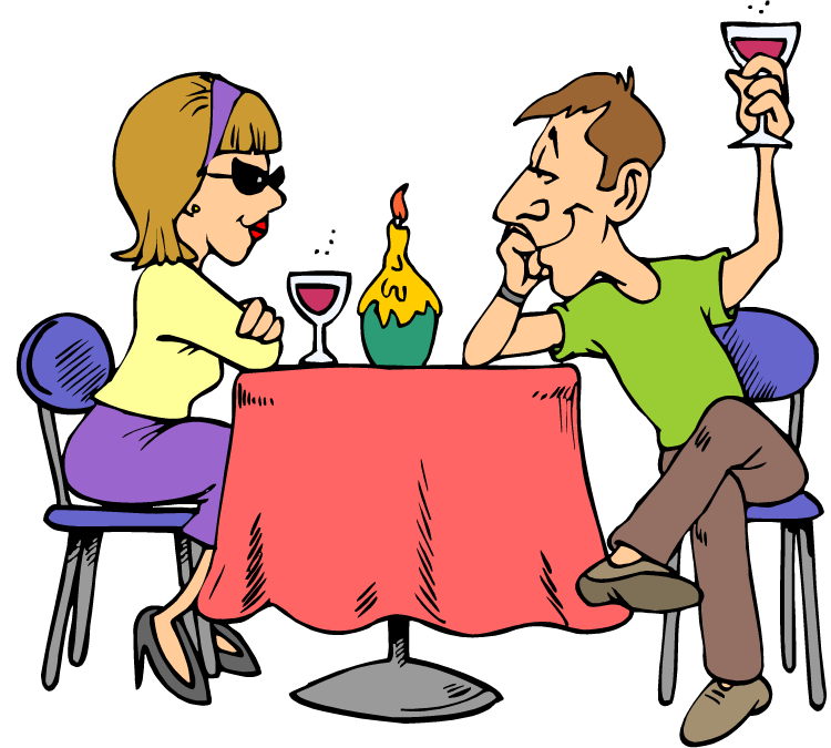 Date pencil and in. Feast clipart shared lunch