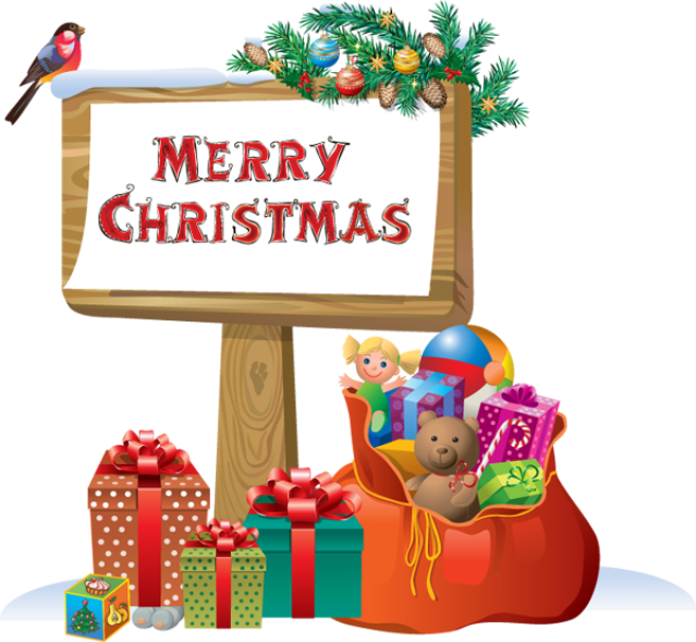 Merry christmas signed . Clipart images mall