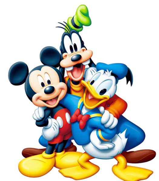 Clipart images mall. Mickey mouse and friends