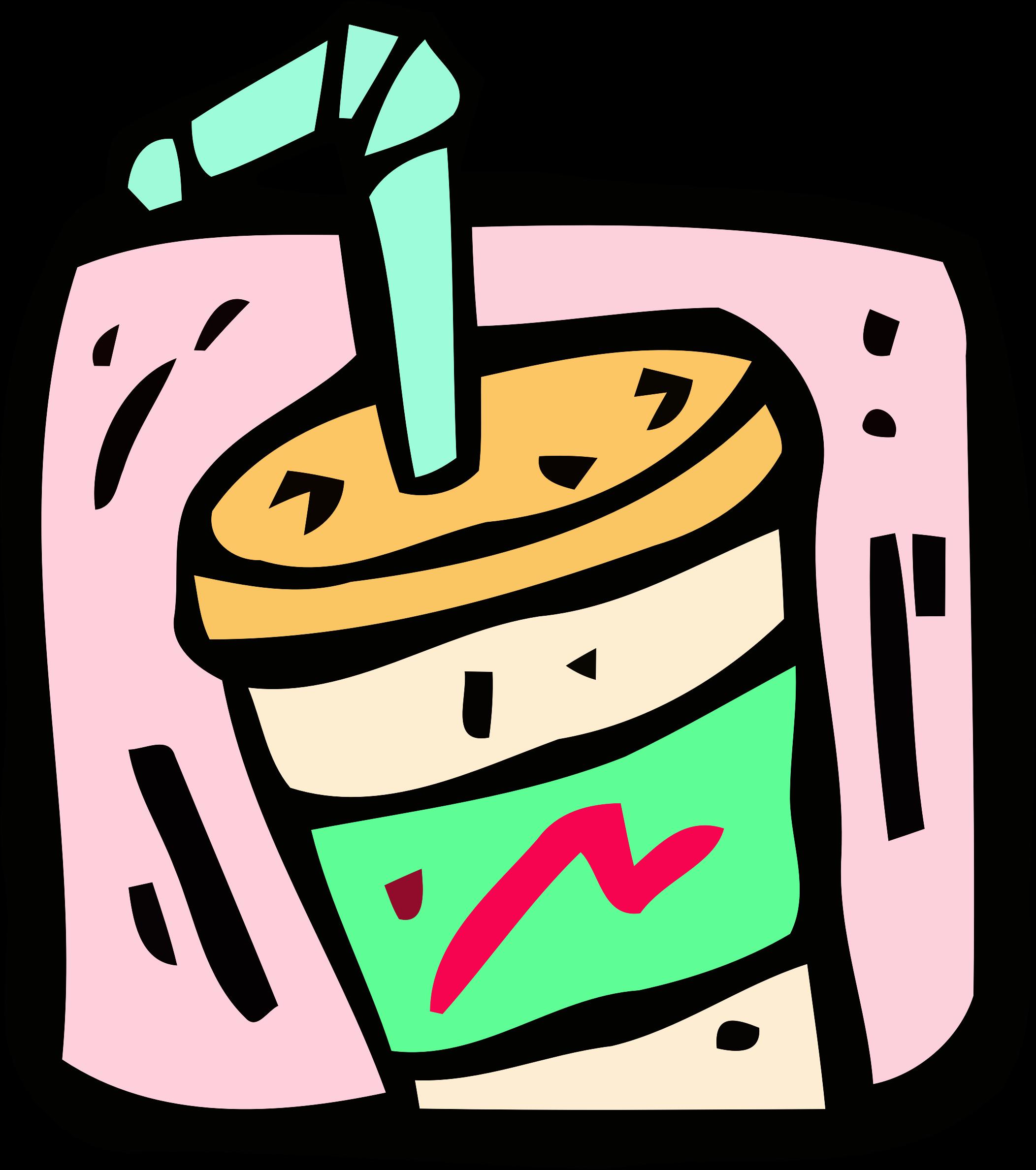drinks clipart milkshake