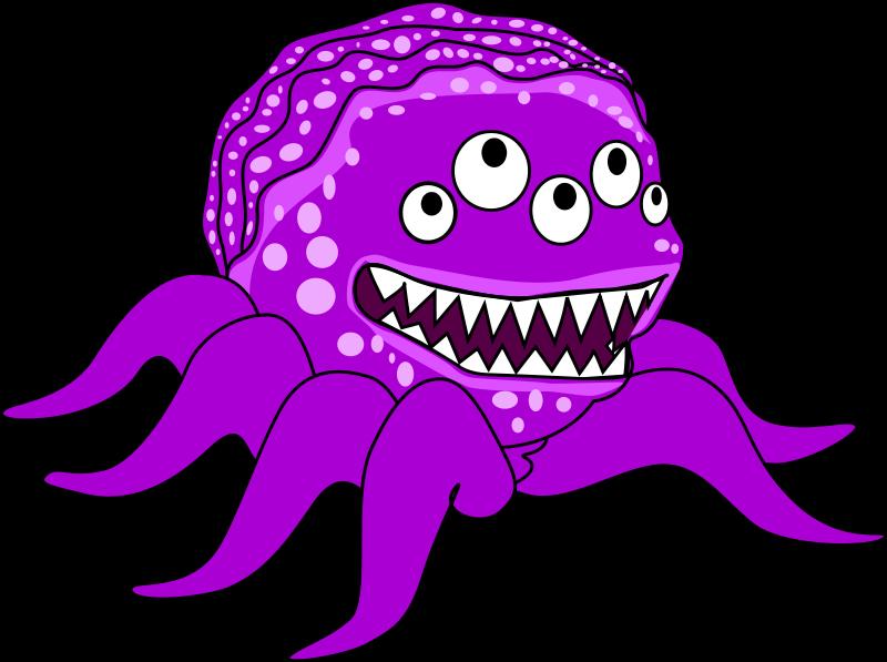 Eyeballs clipart 3 eye. Monsters clip art free