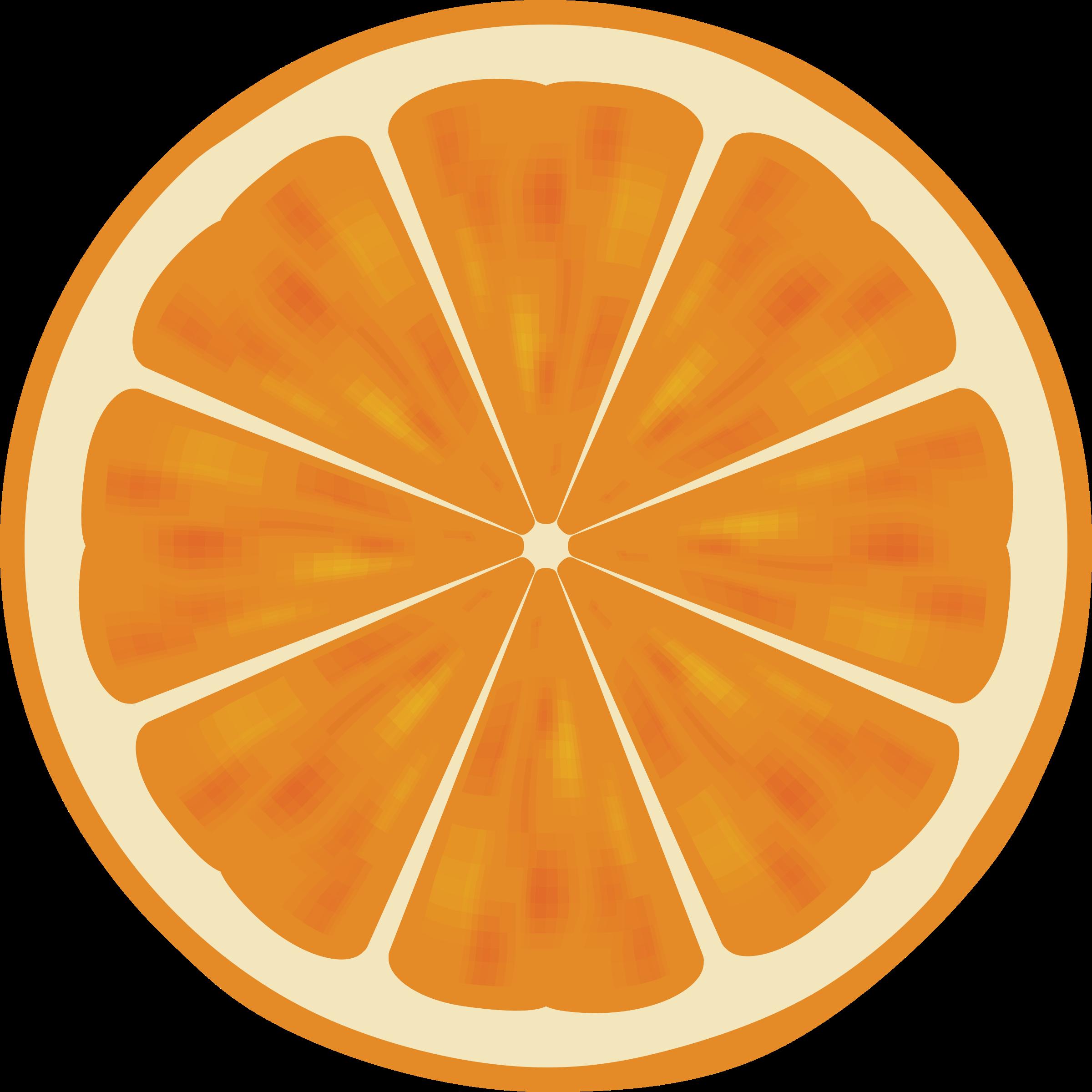 Number 2 clipart orange. Slice big image png