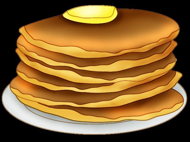 pancake huge freebie. Clipart lunch breakfast