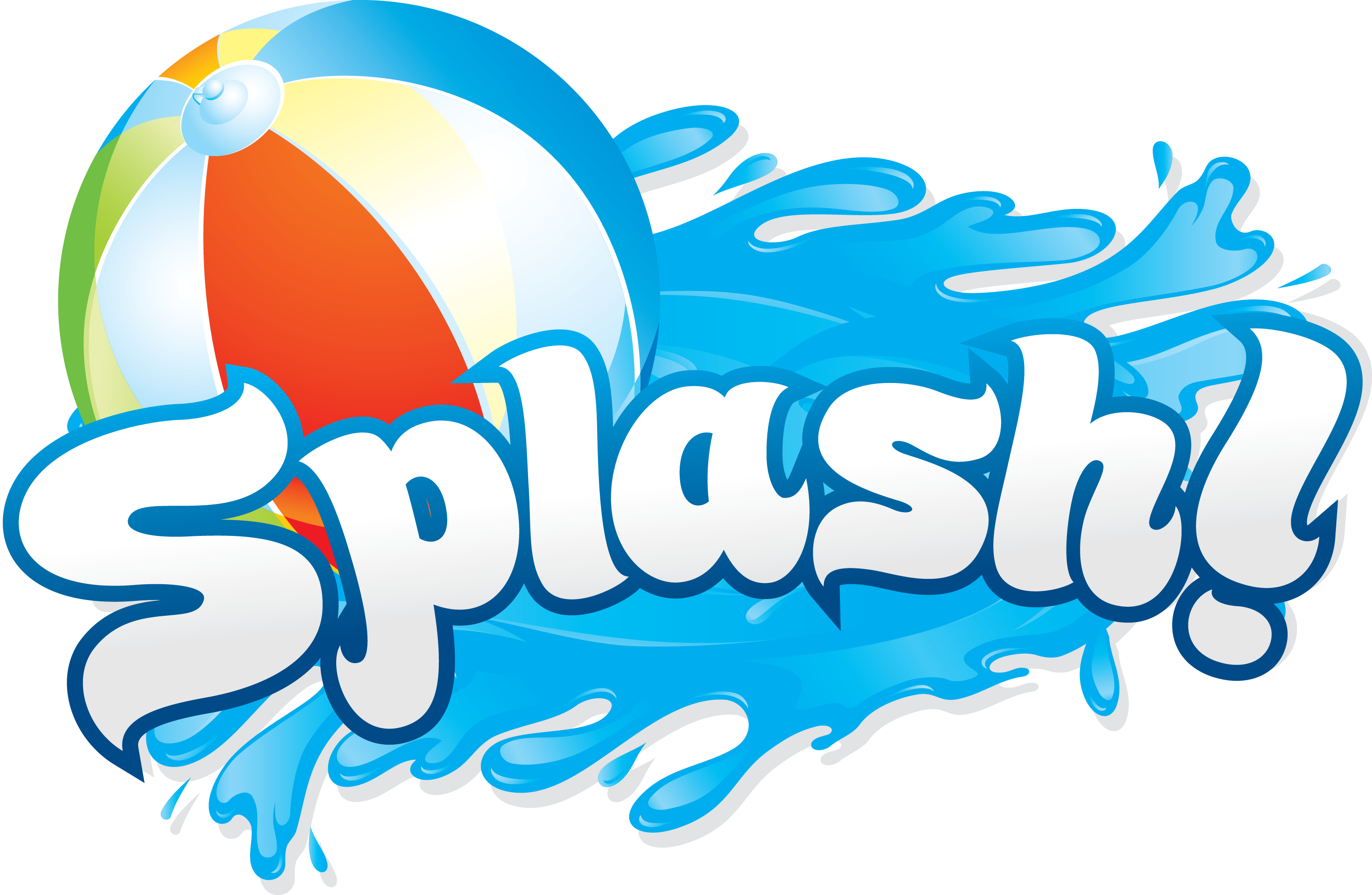 Splash . Clipart park water park