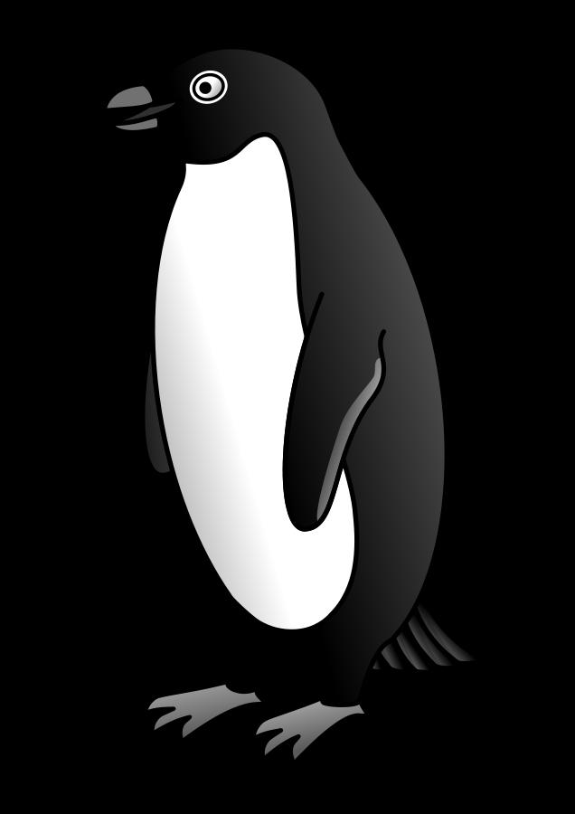 Clipart penguin emperor penguin. Clipartblack com animal free