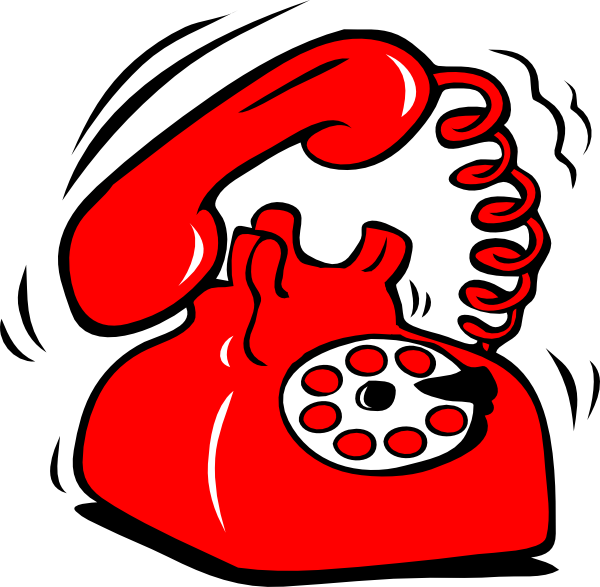 Red clip art at. Telephone clipart emergency phone