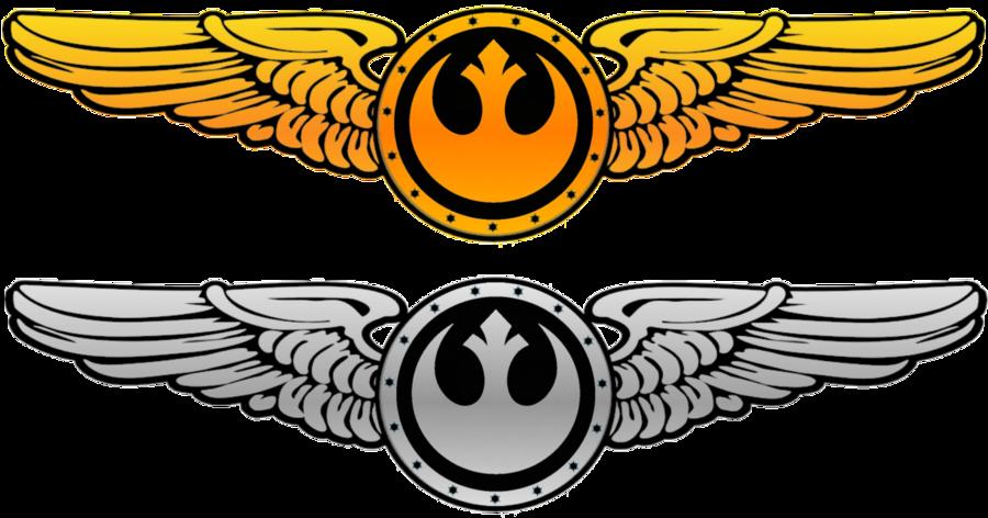 Pilot clipart aviator pilot. New republic wings v
