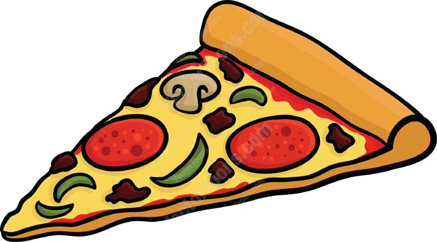 Clipart images pizza.  collection of big