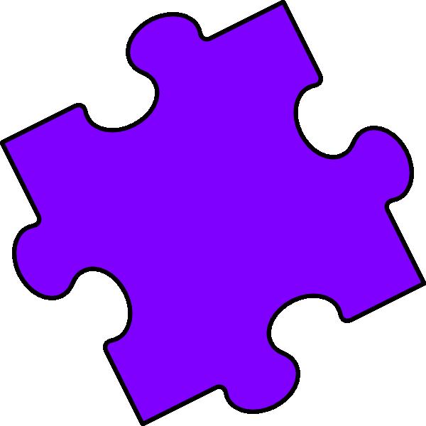 Puzzle clipart logo. Purple piece clip art