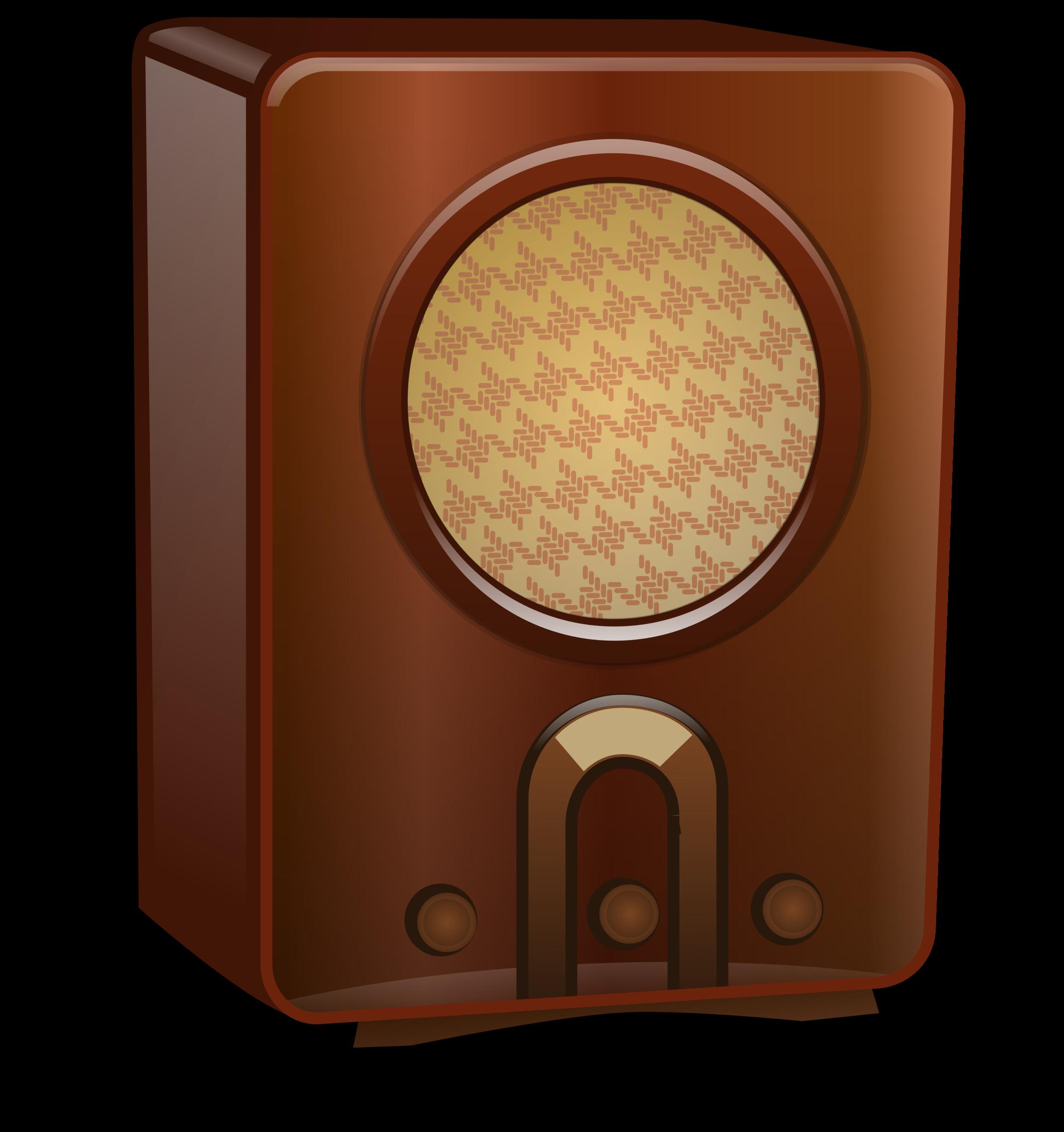 musical clipart radio