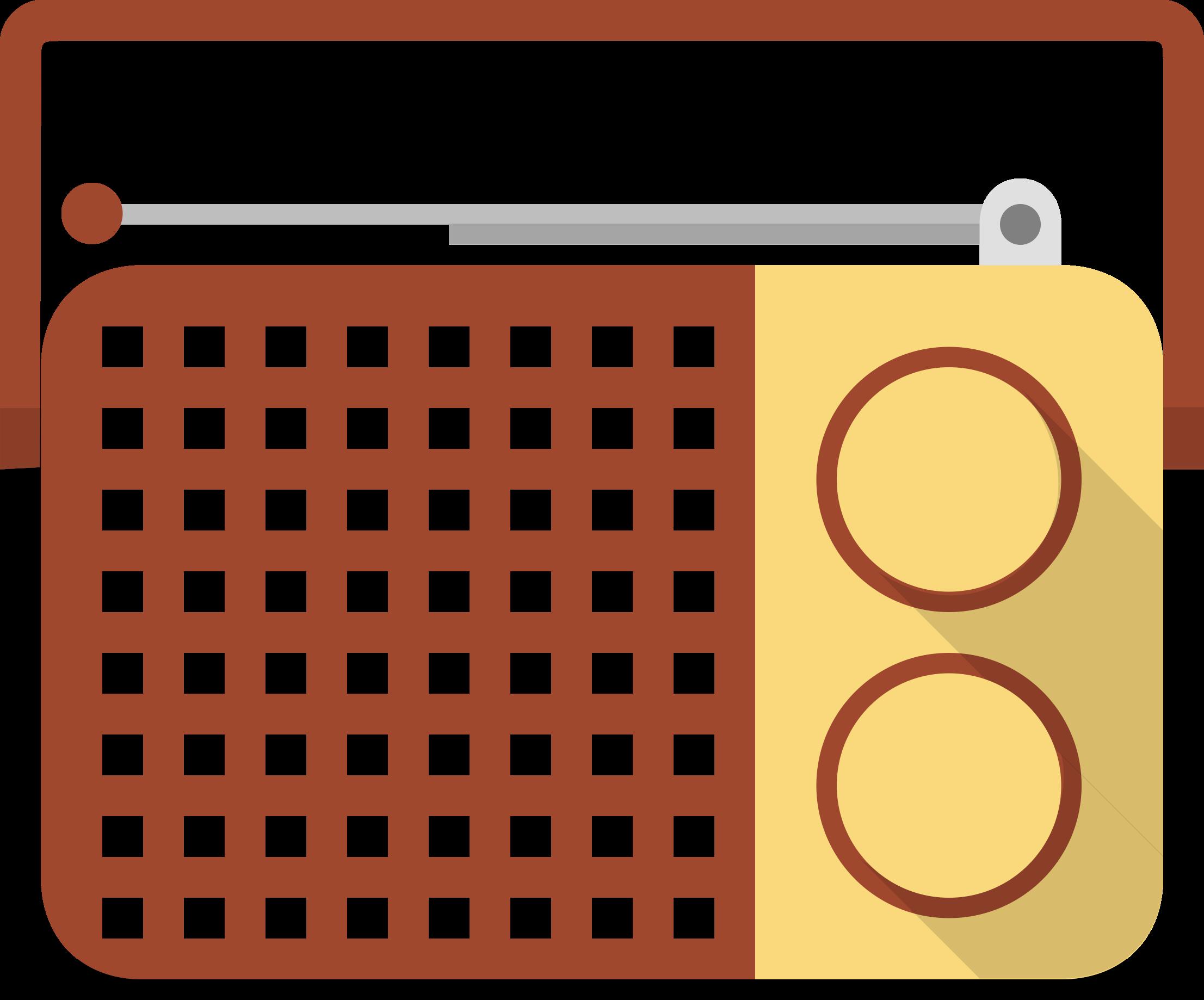 Hand clipart radio. Portable big image png
