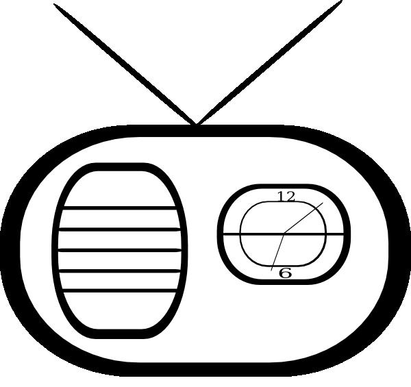Clock radio clip art. Ham clipart vector