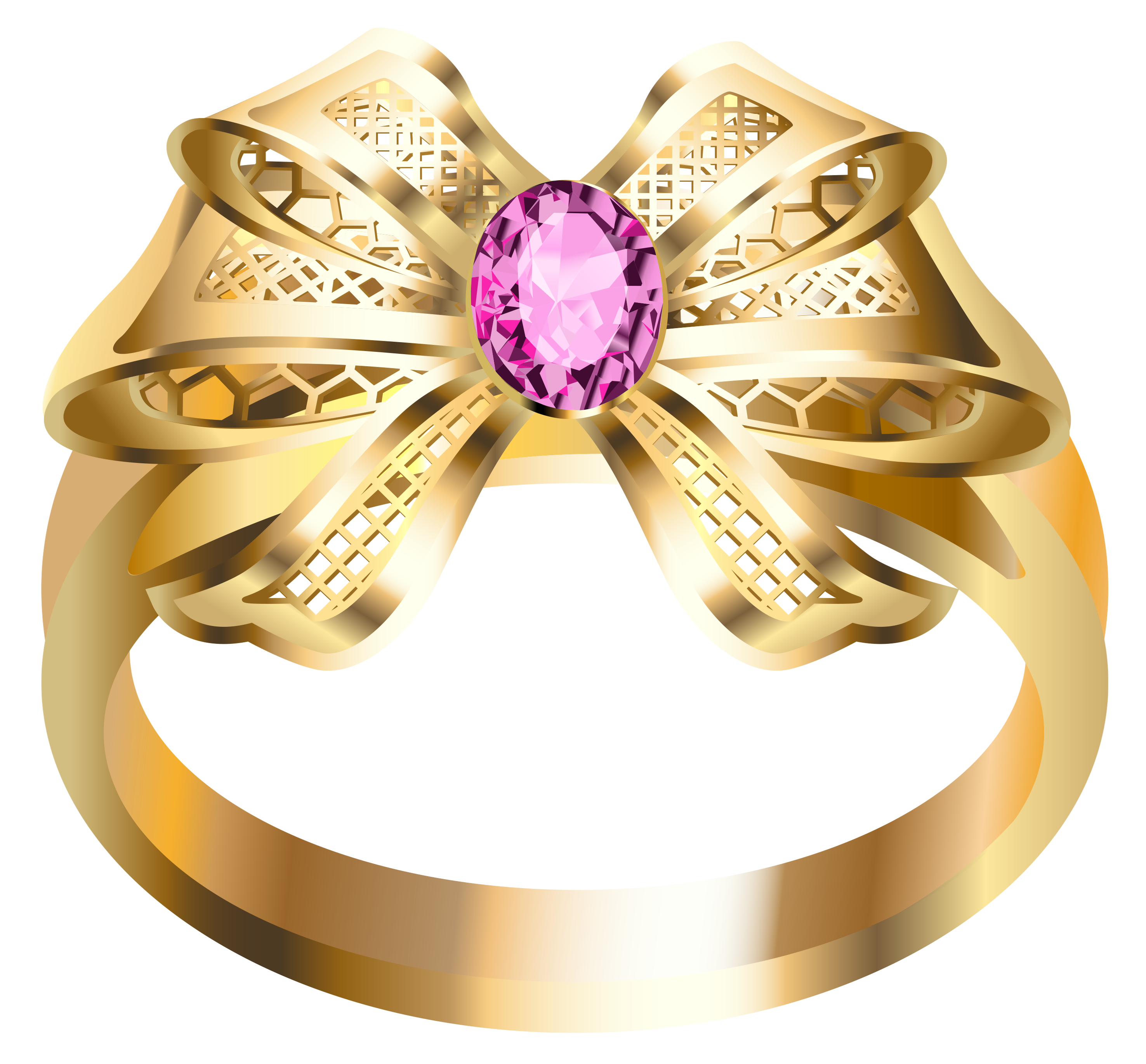 Jewelry gold ring pencil. Ladder clipart golden