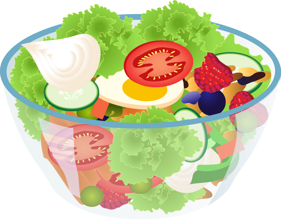 Salad . Fruit clipart house