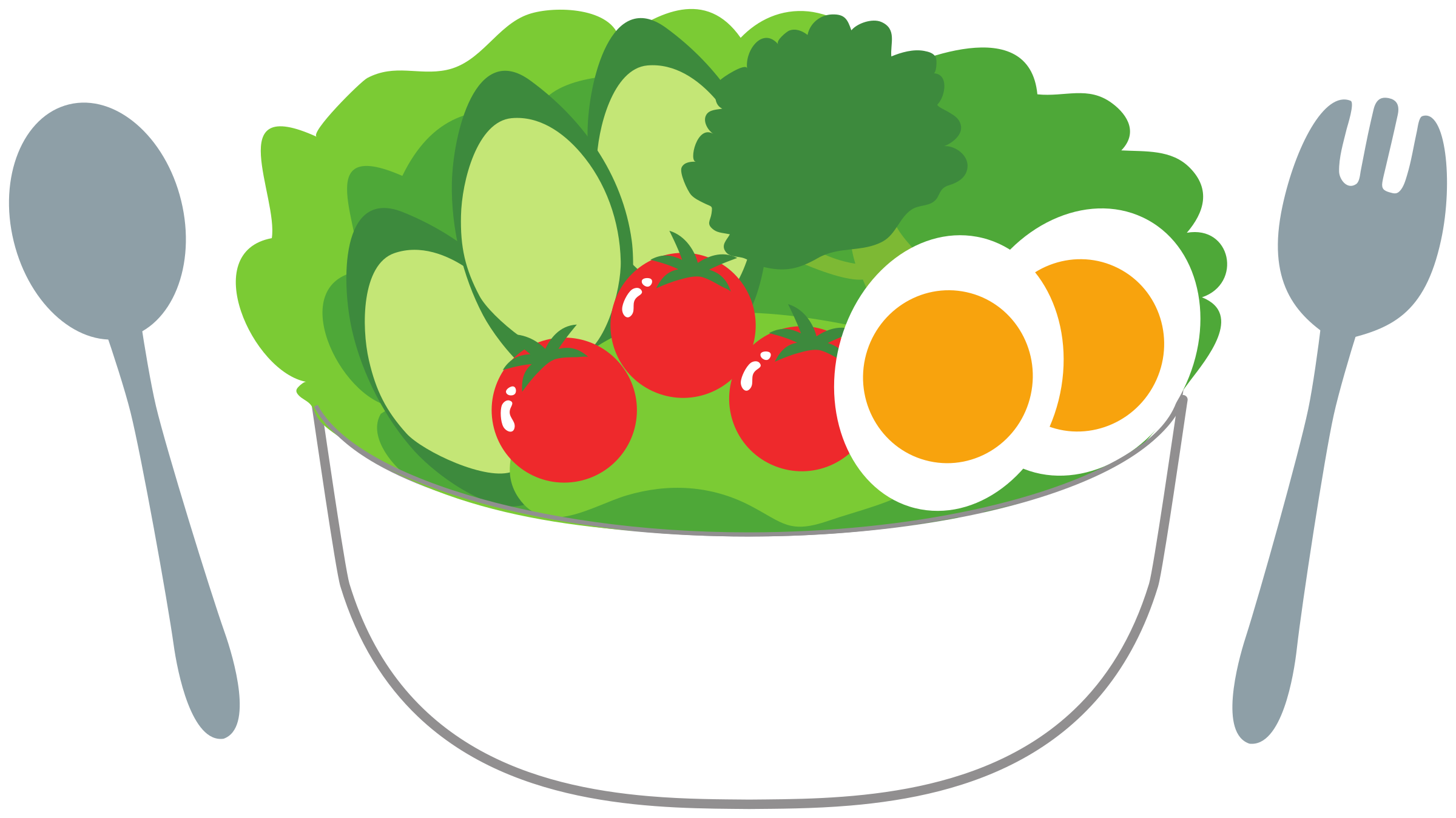Tomatoes clipart fresh. Salad with cucumber and