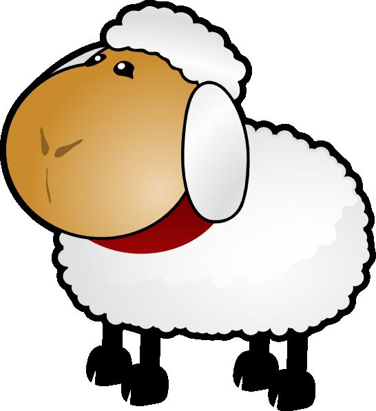 sheep clipart cartoon #142380968