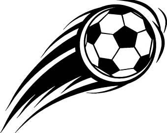 Kickball clipart soce. Soccer field etsy
