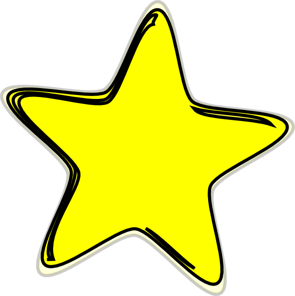 Gold clipart shooting star.  d at getdrawings