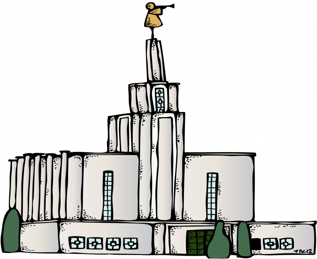 Lds clipart drawing. Best free temple