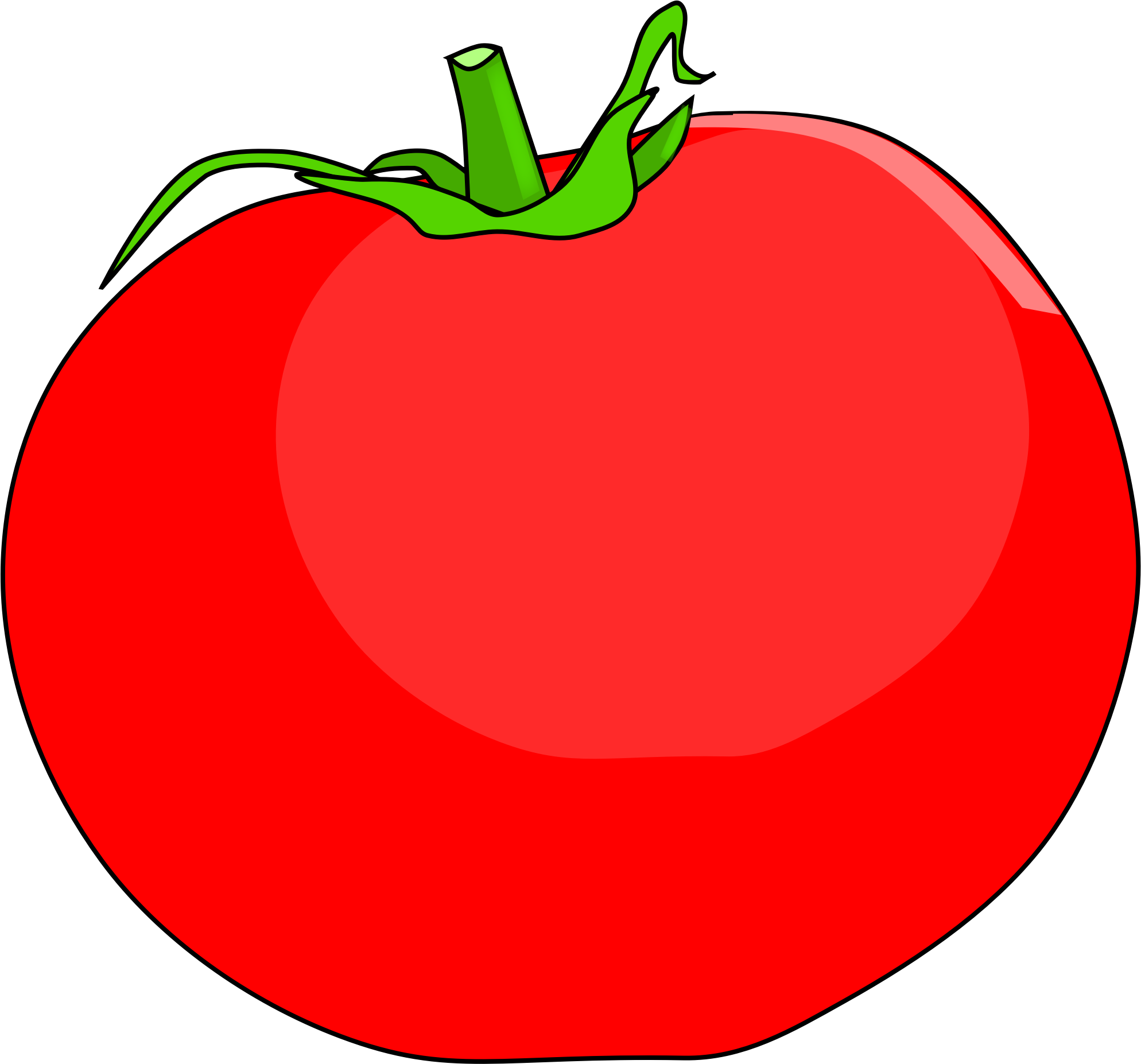 Tomatoes clipart buah. Tomato big image png