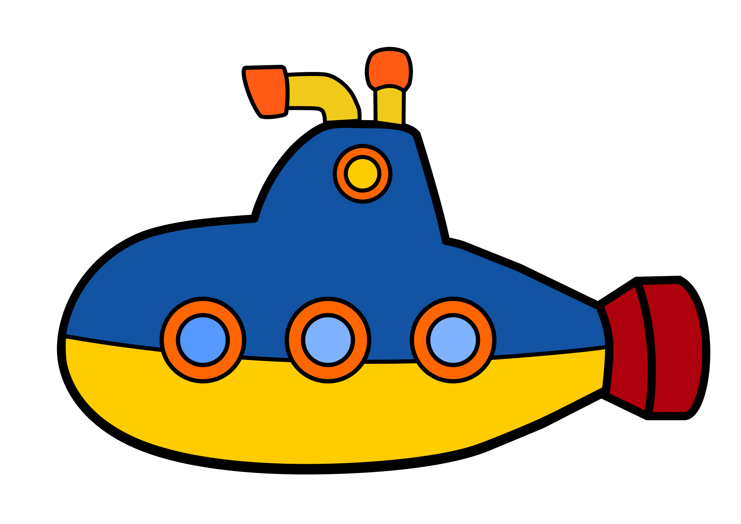 Transportation submarine