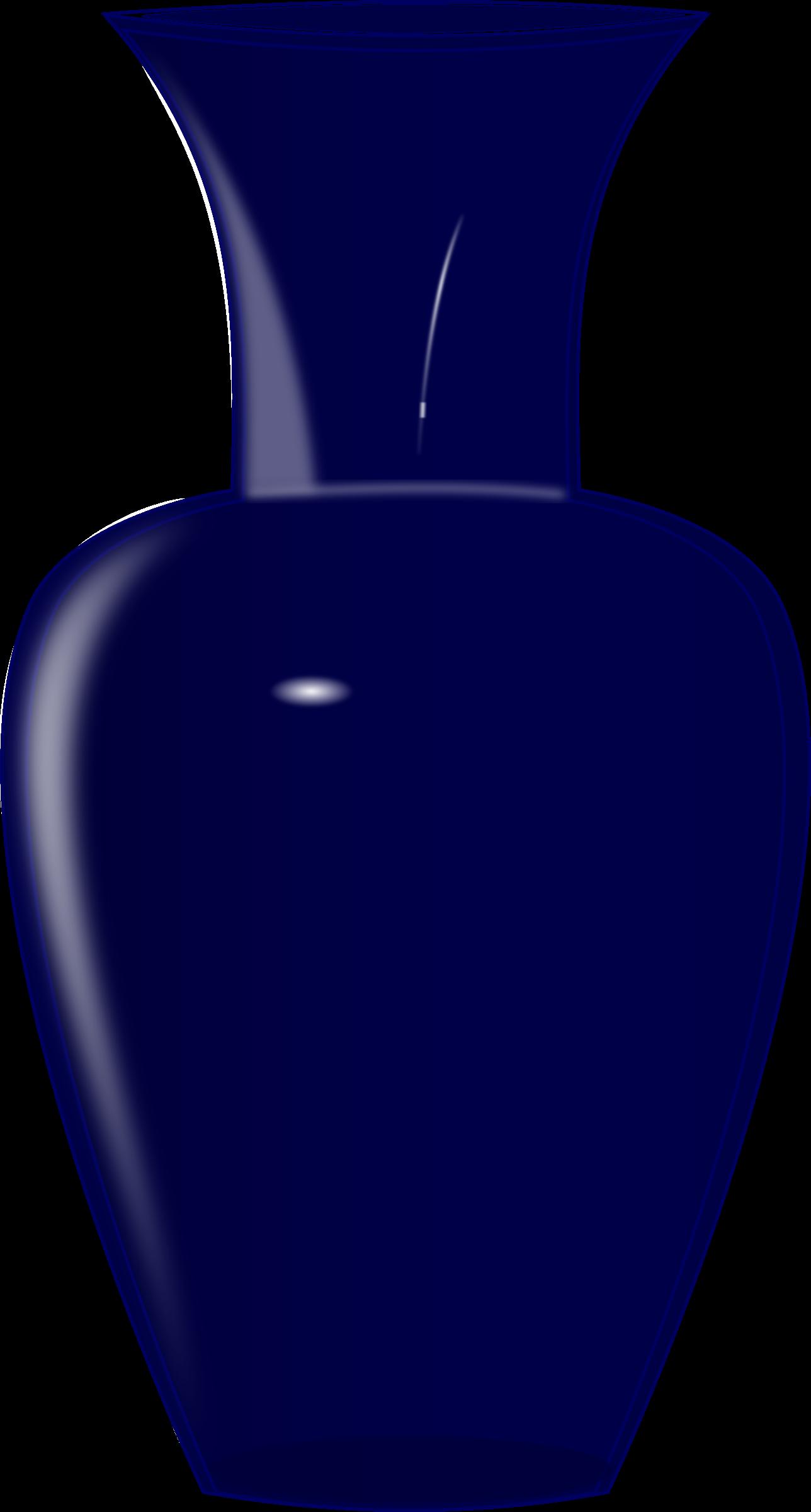 Clipart images vase. Blue glass big image