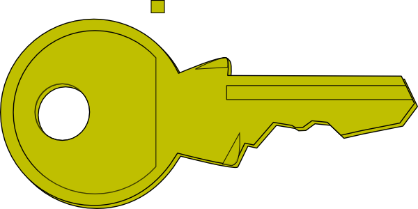 Clipart key. For the lock clip