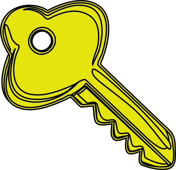 Keys clipart key detail. Door kid clipartix