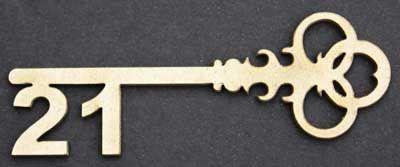 Clipart key 21 birthday.  st my very