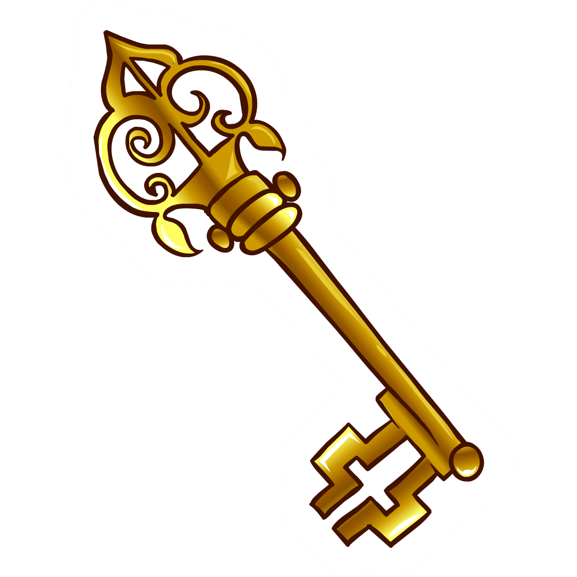 collection of antique. Keys clipart medieval