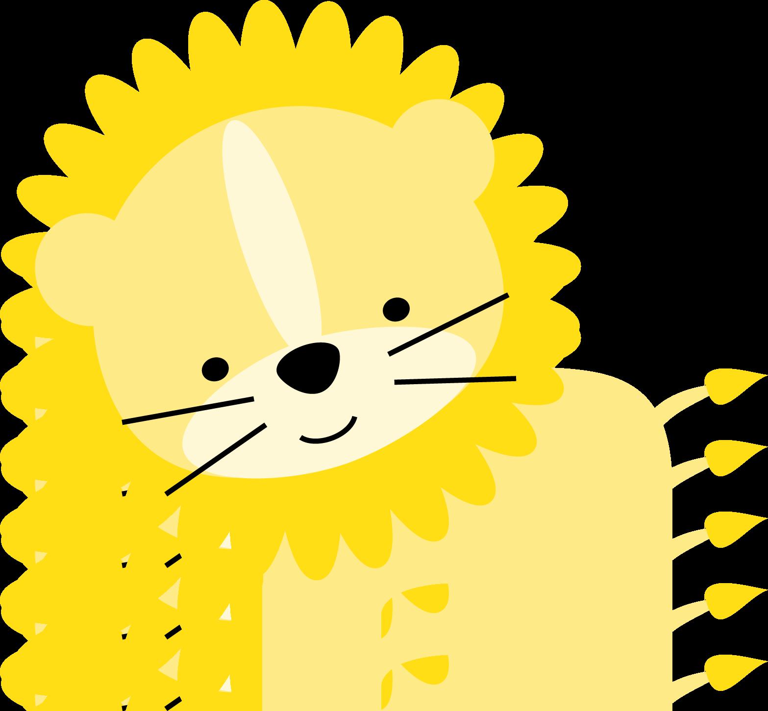 Lion colored