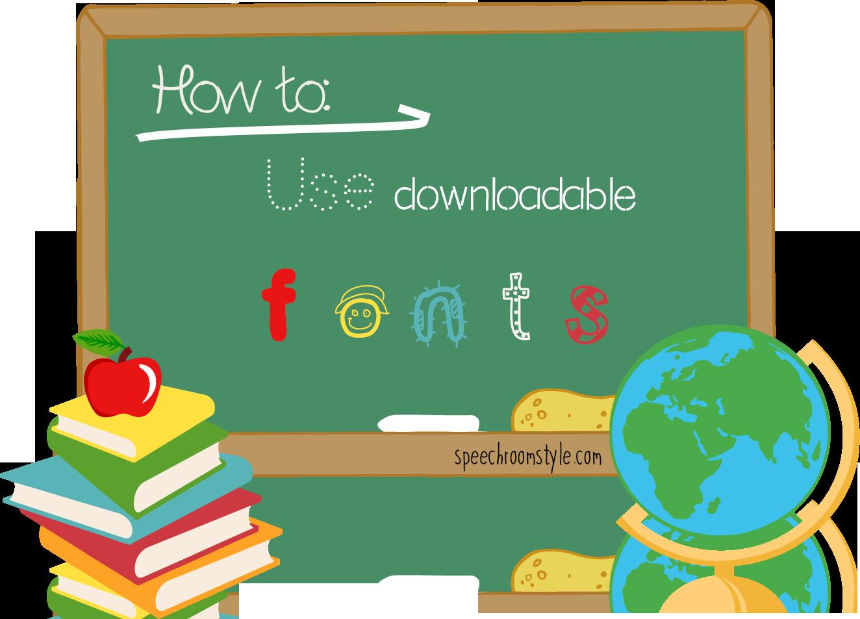 Clipart key classroom. Decor using downloadable fonts