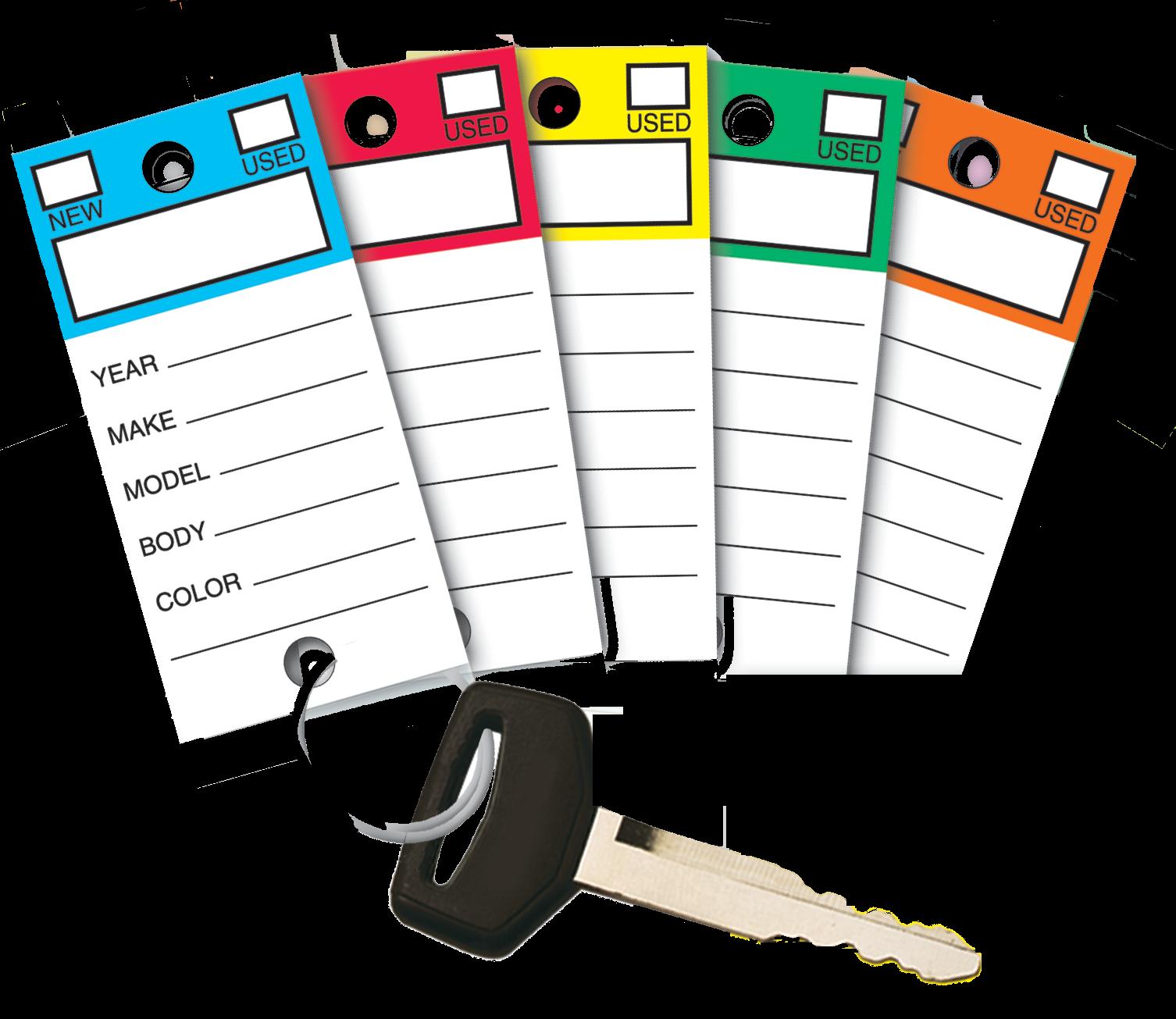 Clipart key colorful key. Self laminated fold n