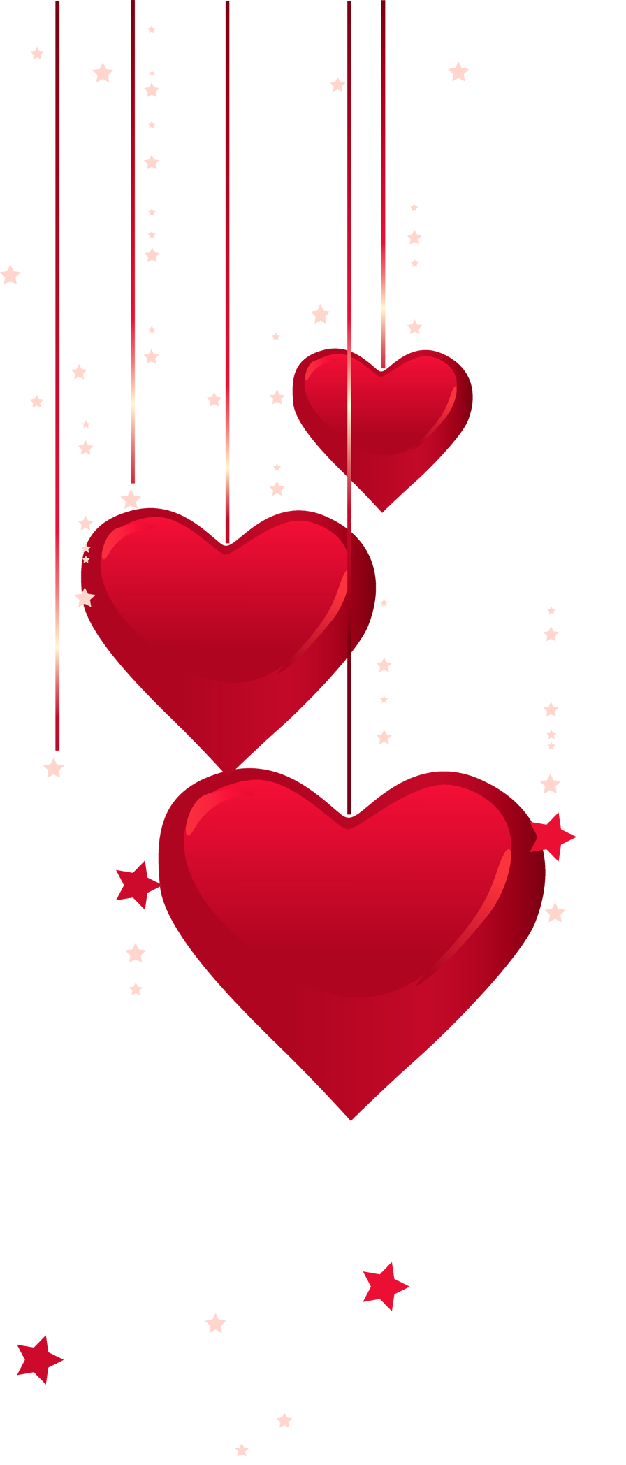Hearts decor png gallery. Keys clipart dangling