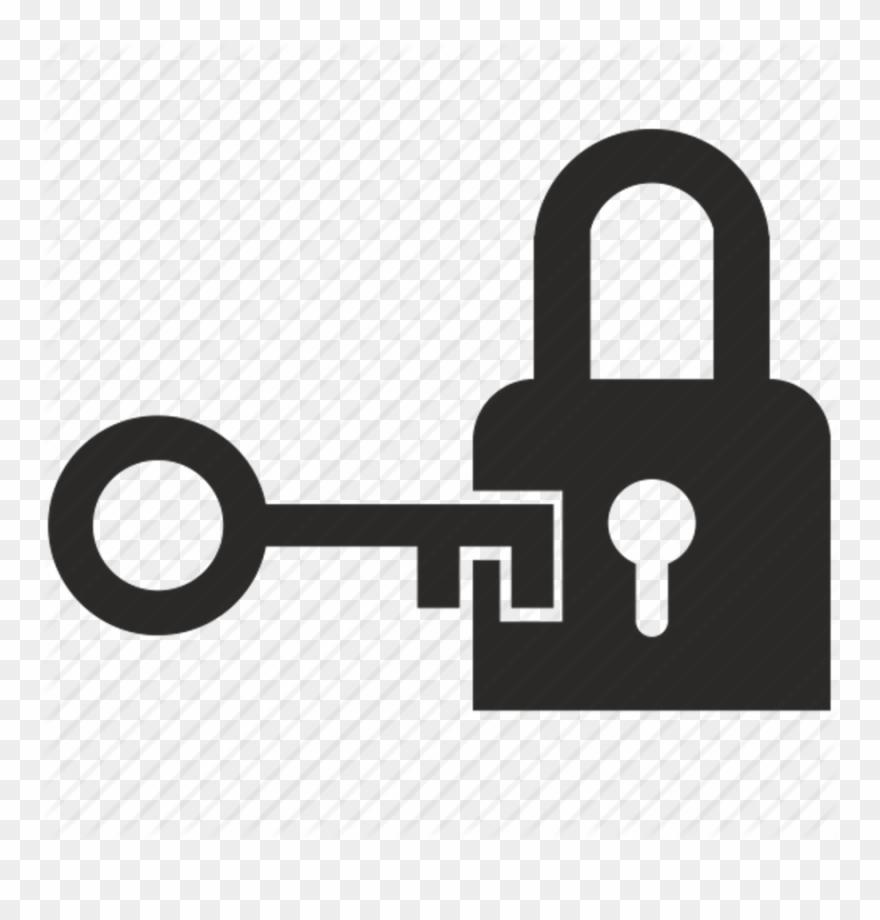 Download opening icon padlock. Keys clipart door key