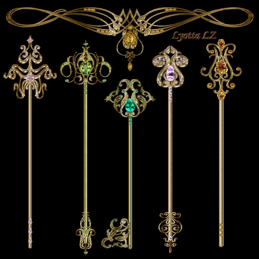 Keys clipart gothic. Gold by lyotta on