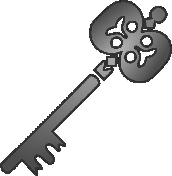 Light clip art at. Clipart key gray