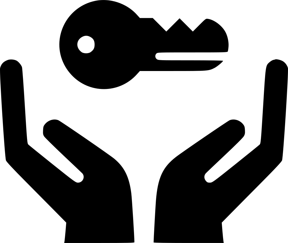 Hands svg png icon. Clipart key hand holding