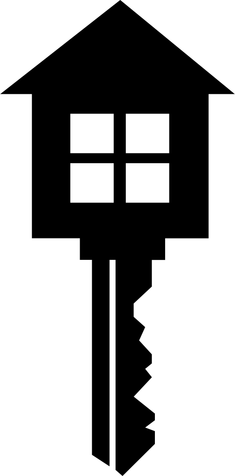 Svg png icon free. Key clipart house key