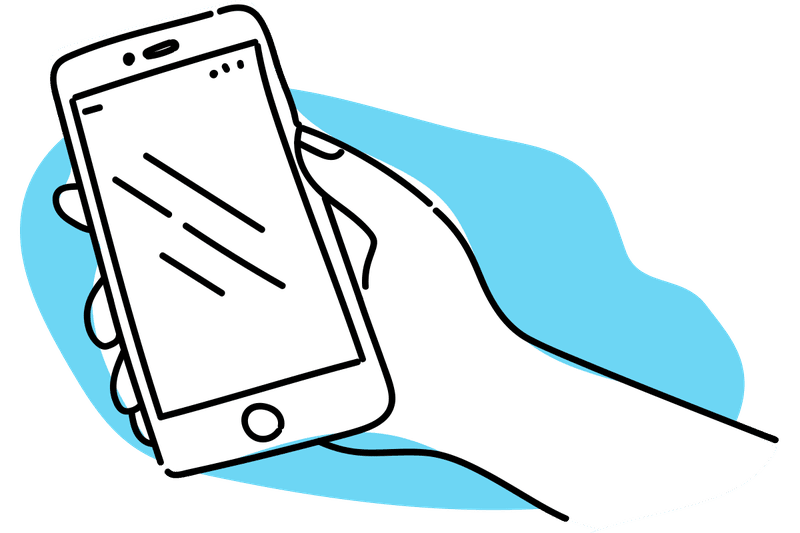 clipart phone solid thing
